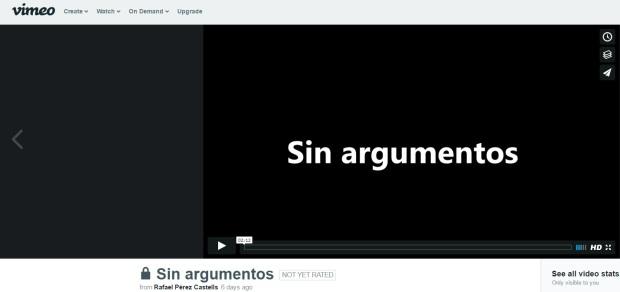 Sin argumentos